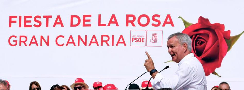 El PSOE de Gran Canaria celebra su Fiesta de la Rosa en el municipio de La Aldea de San Nicolás