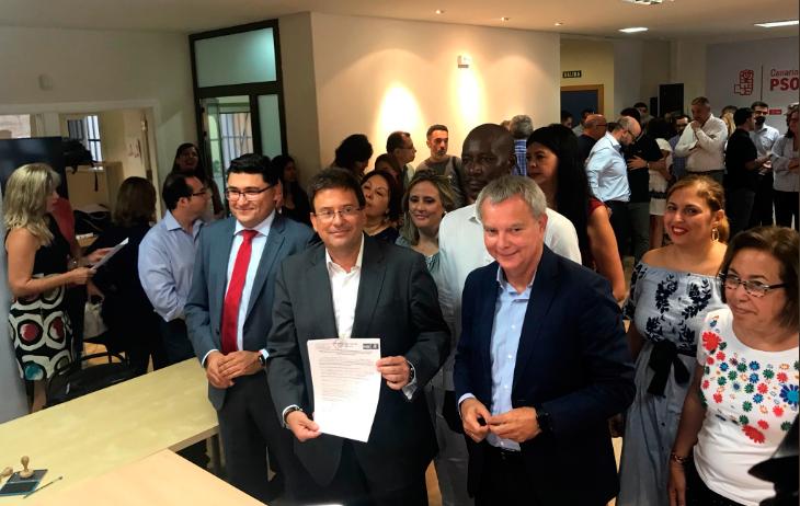Luis Ibarra formaliza su Candidatura a la Presidencia del Cabildo Insular de Gran Canaria