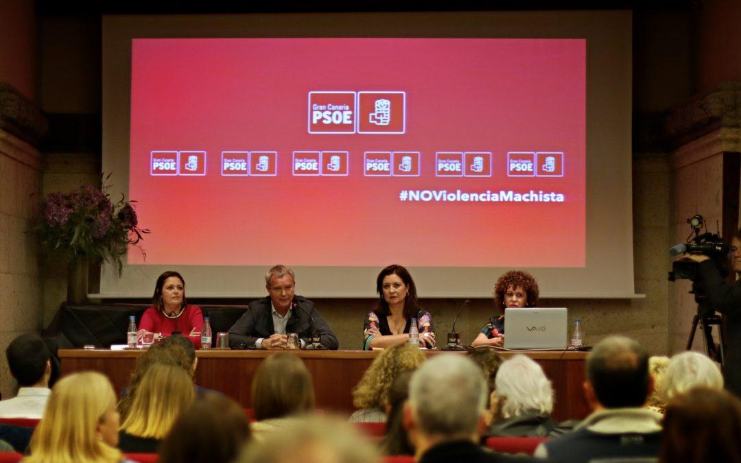 El PSOE de Gran Canaria celebra la jornada «Combatiendo la violencia machista» con motivo del 25N