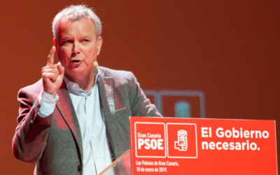 """Chano Franquis: """"El concepto de lealtad que quiere Nueva Canarias es callar y votar"""""""