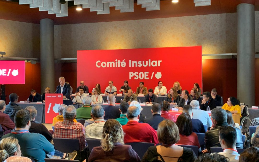 Aprobada la gestión de la Comisión Ejecutiva del PSOE de Gran Canaria