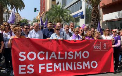 Manifiesto del PSOE con motivo del Día Internacional de la Mujer. 8 de marzo